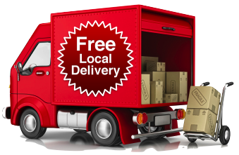 Free Local Delivery.